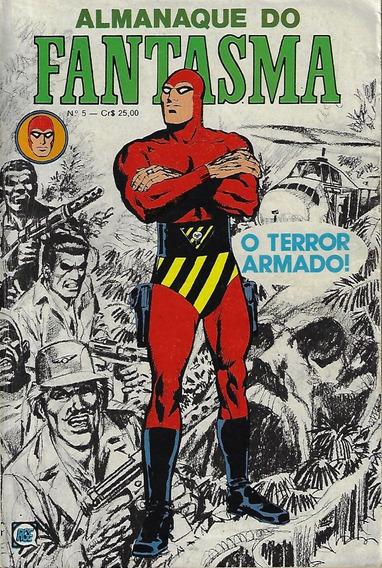 1980 Hq Quadrinhos Almanaque Do Fantasma Nº 5 Editora Rge