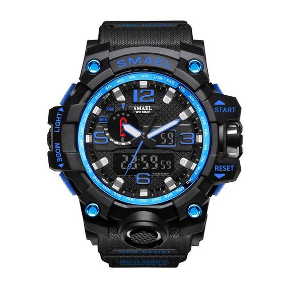 Skmei 1545 Homens Relógio Cintura Digital 50m À Prova D'