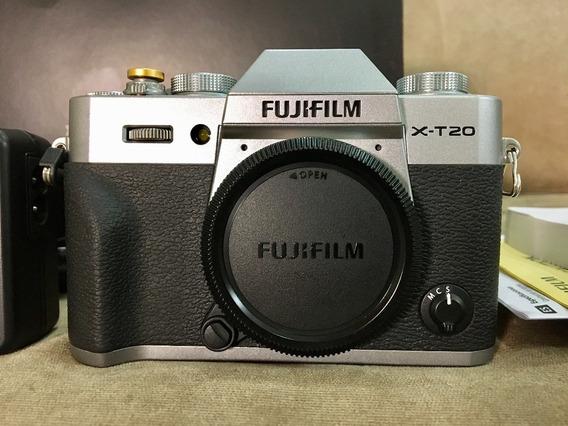 Fujifilm X-t20 Silver (corpo) Novíssima / Completa / 27k