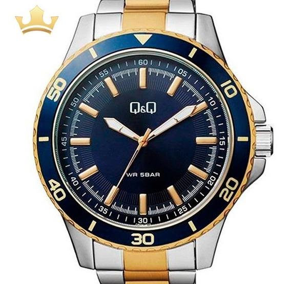 Relógio Q&q By Japan Masculino Qb24j402y C/ Garantia E Nf
