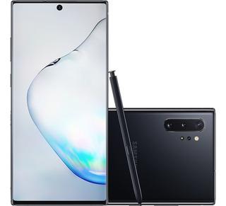 Smartphone Samsung Galaxy Note 10+ 256gb 6.8 Octa-core Preto