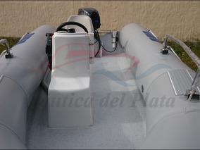 Bote Gomon Semirrigido Pescador Con Motor Y Comandos Cero Hs