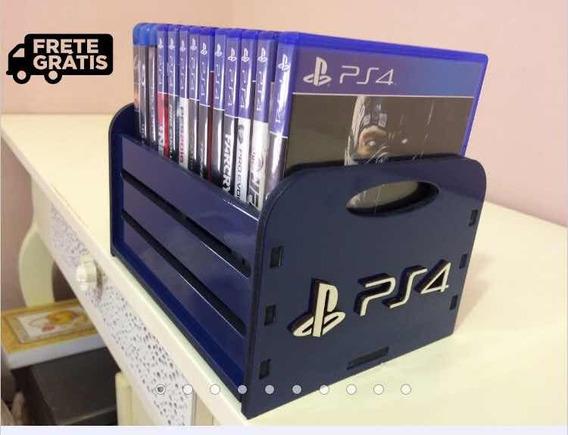 Kit 3 Porta Jogos - Games - Ps4 Xbox Nintendo Switch