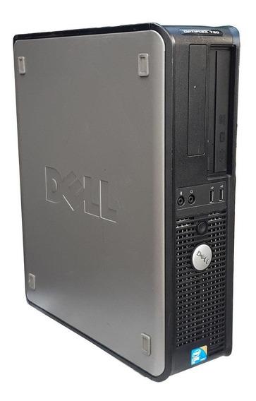 Dell Optiplex 780 Intel C2d 3.0ghz 4gb Ddr3 Ssd 120gb Wifi