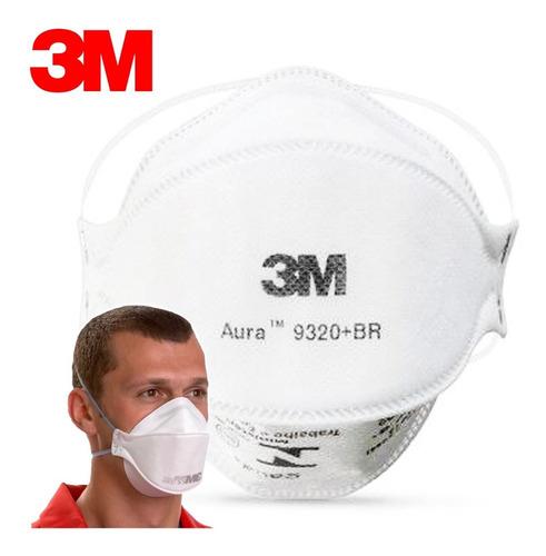 Máscara Proteção 3m Pff-2 N95 Aura 9320 Inmetro Pff-2(s)