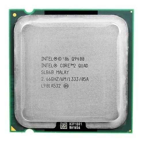 Processador Core 2 Quad Q9400 2.66ghz 6mb Lga 775 + Pasta