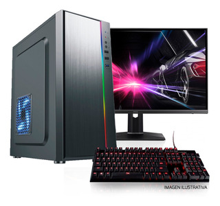 Pc Armada Gamer Ryzen 5 3400g Ssd 240g 16gb Ram B450