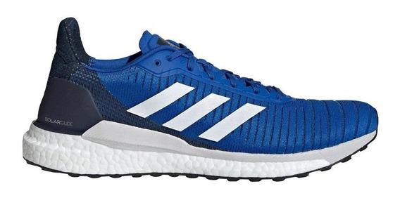 Zapatillas adidas Solar Glide 19 M Azul - Corner Deportes