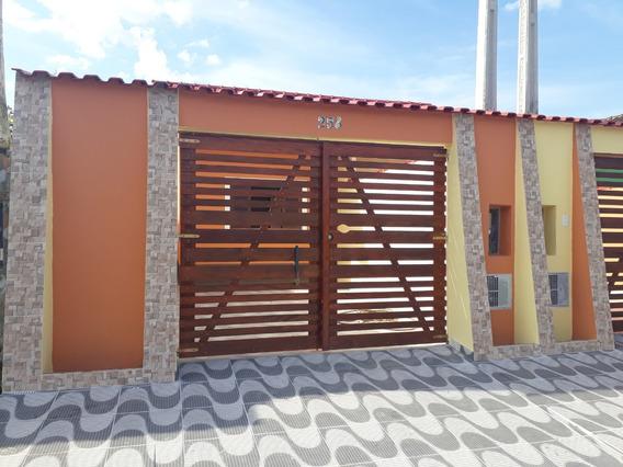 Casa Nova Maravilhosa Com Dois Dormitórios Na Praia