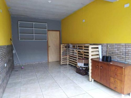 Salão Para Alugar, 50 M² Por R$ 680,00/mês - Jardim Miranda D Aviz - Mauá/sp - Sl0163