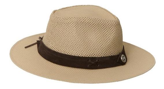 Sombrero Modelo Australiano De Rafia De Algodon Ventilado