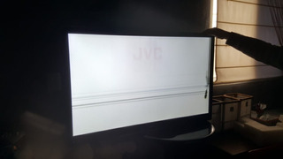 Tv Led Jvc 46 Pantalla Dañada - Para Repuestos