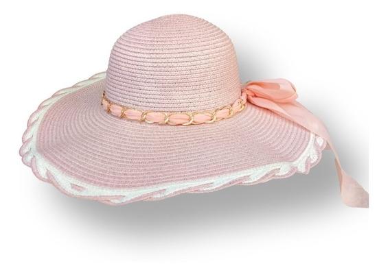 Sombrero Playero Mujer Flexible Playa Dama Verano