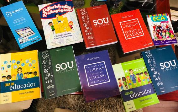 Coleção De Livros Pedagogia - Sou Educador + Brinde Oferta