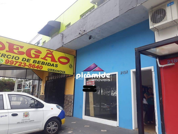 Ponto Para Alugar, 40 M² Por R$ 2.400,00/mês - Urbanova - São José Dos Campos/sp - Pt0185