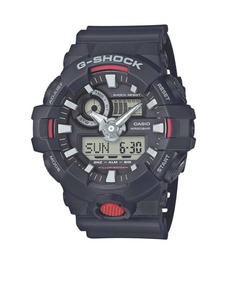 Relógio Casio G-shock Ga-700-1a Preto Lançamento Ga700