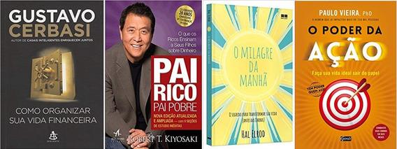 Como Organizar Sua Vida Financeira + Pai Rico + 2 Livros