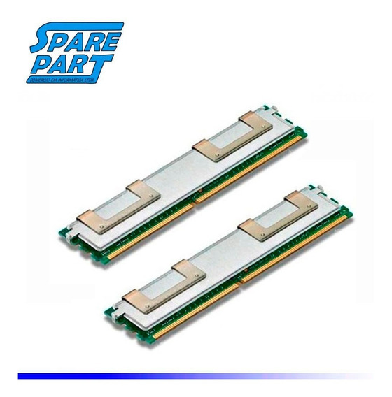 Kit Memoria Pc2-5300f 32gb Servidor Dell 1950 2950 (8 X 4gb)
