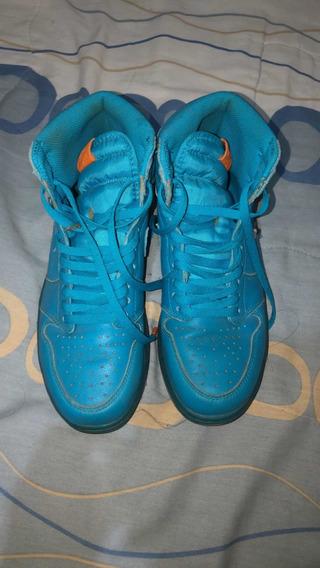 Zapatos Nike Air Jordan 1 Blue Gatorade