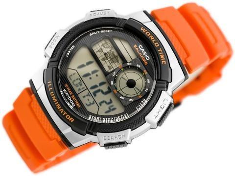 Relogio Casio Ae-1000 Multialarme Hora Mundi 100% Original!!