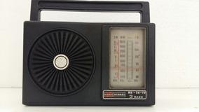 Radio Nissei Modelo De 3 Faixas Am/fm Funcionando Leiam Desc