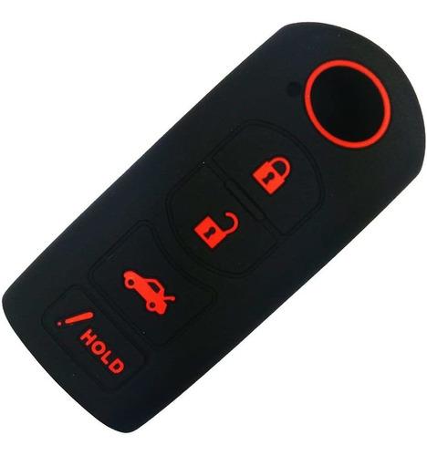 Imagen 1 de 4 de Coolbestda - Funda Protectora Para Llave De Goma Para Mazda