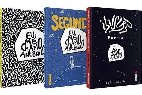 Coleção Eu Me Chamo Antônio - 3 Livros- Pedro Gabriel