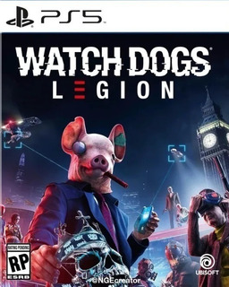 Watch Dogs Legion Ps5 Juego Fisico Sellado Playstation 5