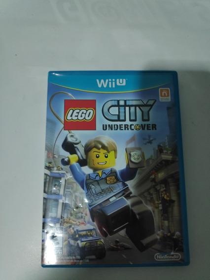 Lego City Undercover Wii U Original. Midia Fisica