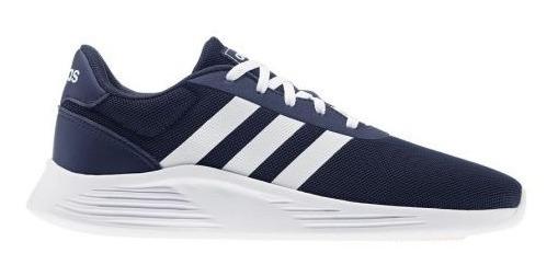 Tenis adidas Lite Racer 2.0 Juvenil Azul Lifestyle Sport