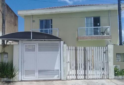Sobrado Residencial À Venda, Nossa Senhora De Sion, Itanhaém. - So0074