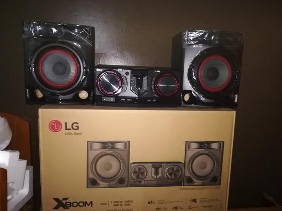 Equipo De Sonido Lg Cj44 Bluetooth Usb Equipo Sonido 5100w