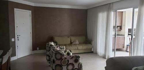 Apartamento No Campo Belo - 3 Suites E 3 Vagas De Garagem - Lazer Completo E Varanda Gourmet - Condomínio Reserva Paco Das Aguas - Ap41388