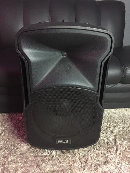 Caixa Ativa Wls W15 Pro 500w Rms C/ Usb Sd Bluetooth