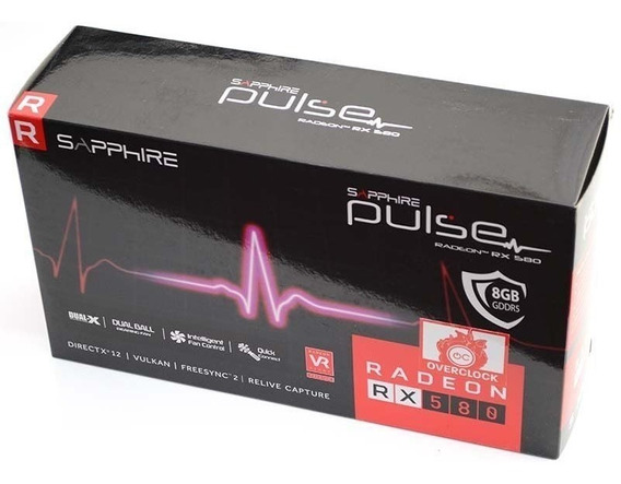 Sapphire Rx 580 Pulse 8gb
