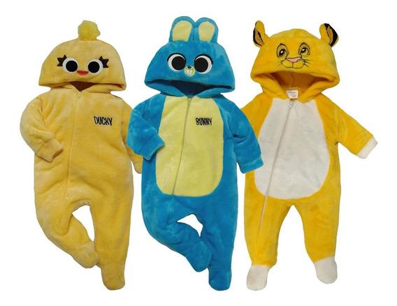 Kit 3 Mamelucos Disney Ducky, Bunny, Simba A Precio De 2