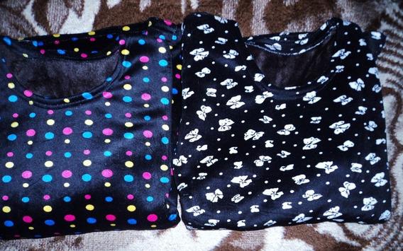 Remera/camiseta Termica Con Piel