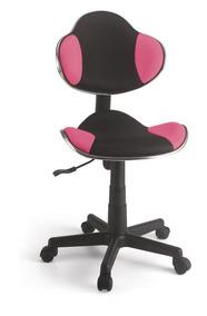 Cadeira Para Escritório Secretária Gamer Rosa