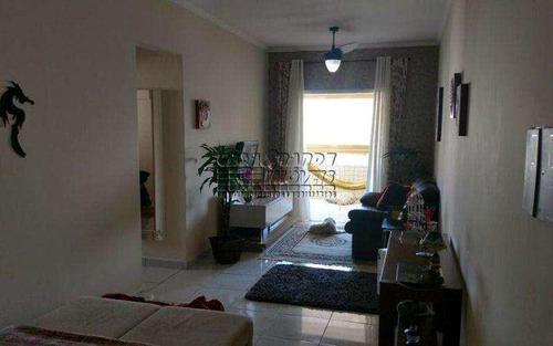Imagem 1 de 9 de Excelente Apartamento Mobiliado Em Praia Grande, Vila Tupi. - V5638