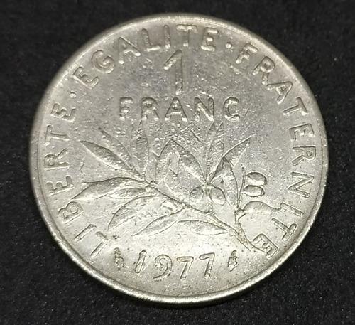 Francia - Moneda De 1 Franc - Año: 1977