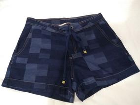 Short Jeans Original Zinco N. 36 Estilo Social Jeans Bolsos