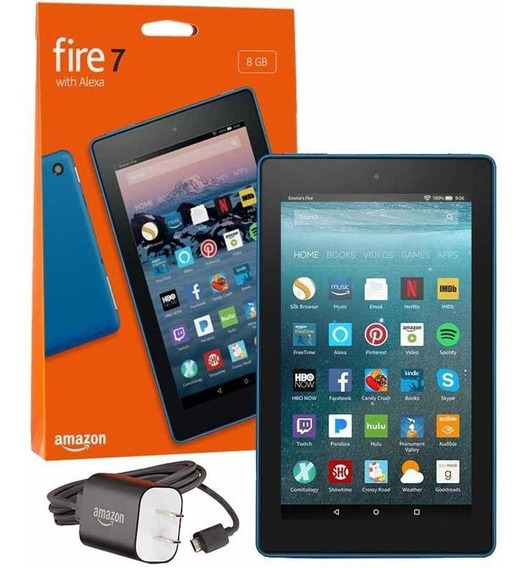 Tablet Amazon Fire Hd7 8gb 7 Alexa + Capinha Preto