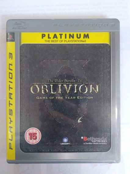 Jogo The Elder Scrolls Iv Oblivion Ps3 Física R$65,90