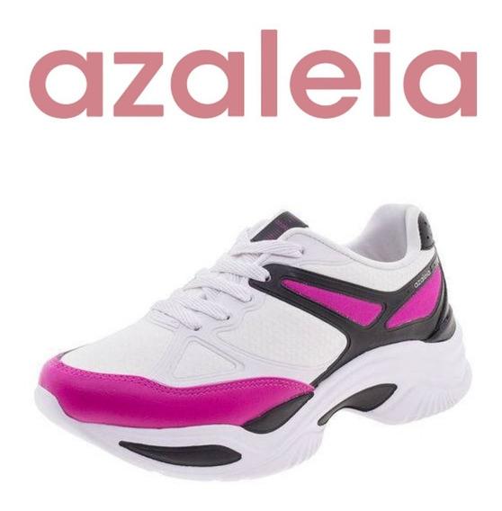 Tênis Azaléia Chunk Casual Feminino - Preto Pink