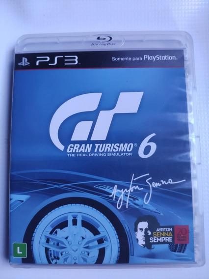 Gran Turismo 6 Ps3 Midia Física Semi Novo Envio Imediato
