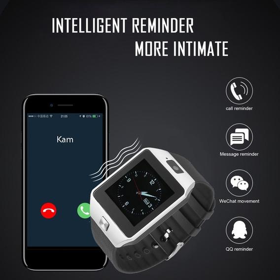 Inteligente Reloj Con Cámara Bluetooth Muñeca Reloj Vibrante