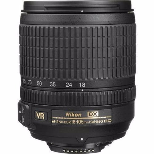 Lente Nikon 18-105mm F/3.5-5.6g Ed Vr Af-s Dx Nikkor