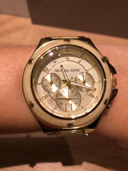 Relógio Michael Kors Mk-5449 Madrepérola Novíssimo