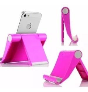 Suporte De Mesa Universal Celular Tablet Vexstand - Pink