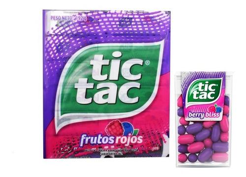 Tic Tac Frutos Rojos X 24 Cajitas - kg a $10